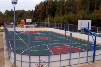 Производство и монтаж хоккейной коробки